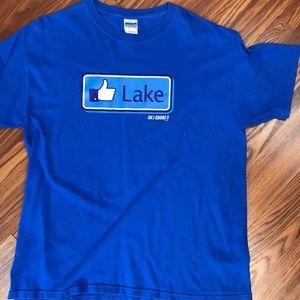 Other - Blue short sleeve Lake T shirt.